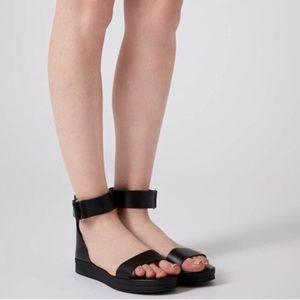 Topshop. Platform open toe sandals.